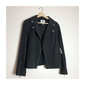 old navy zipper blazer